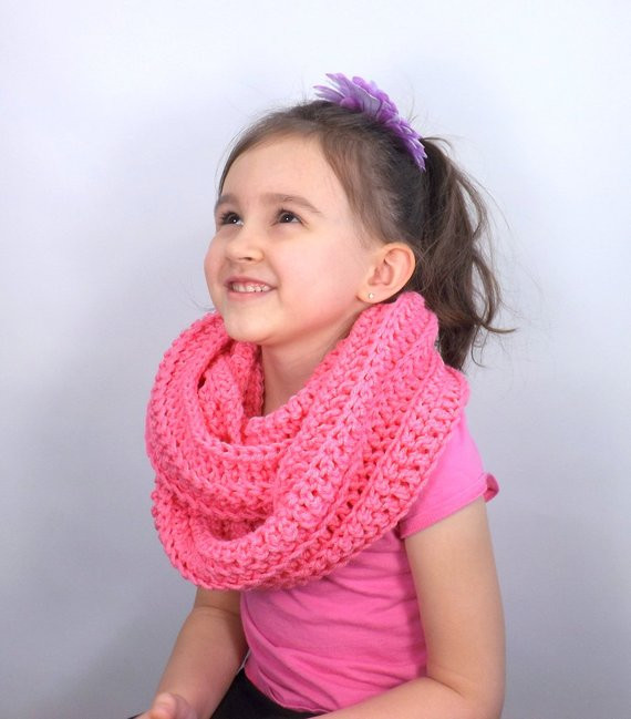 Fresh Sale Crochet Kids Infinity Scarf Bubble Gum Fall by Avaneska Crochet Kids Scarf Of New 9 Cool Crochet Scarf Patterns Crochet Kids Scarf