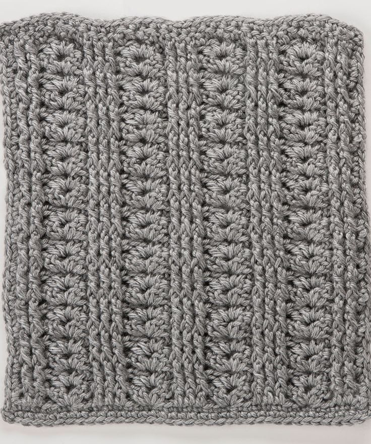 Fresh Shells with Front & Back Post Stitches Square 10th Free Square Crochet Stitch Of Lovely 49 Photos Square Crochet Stitch