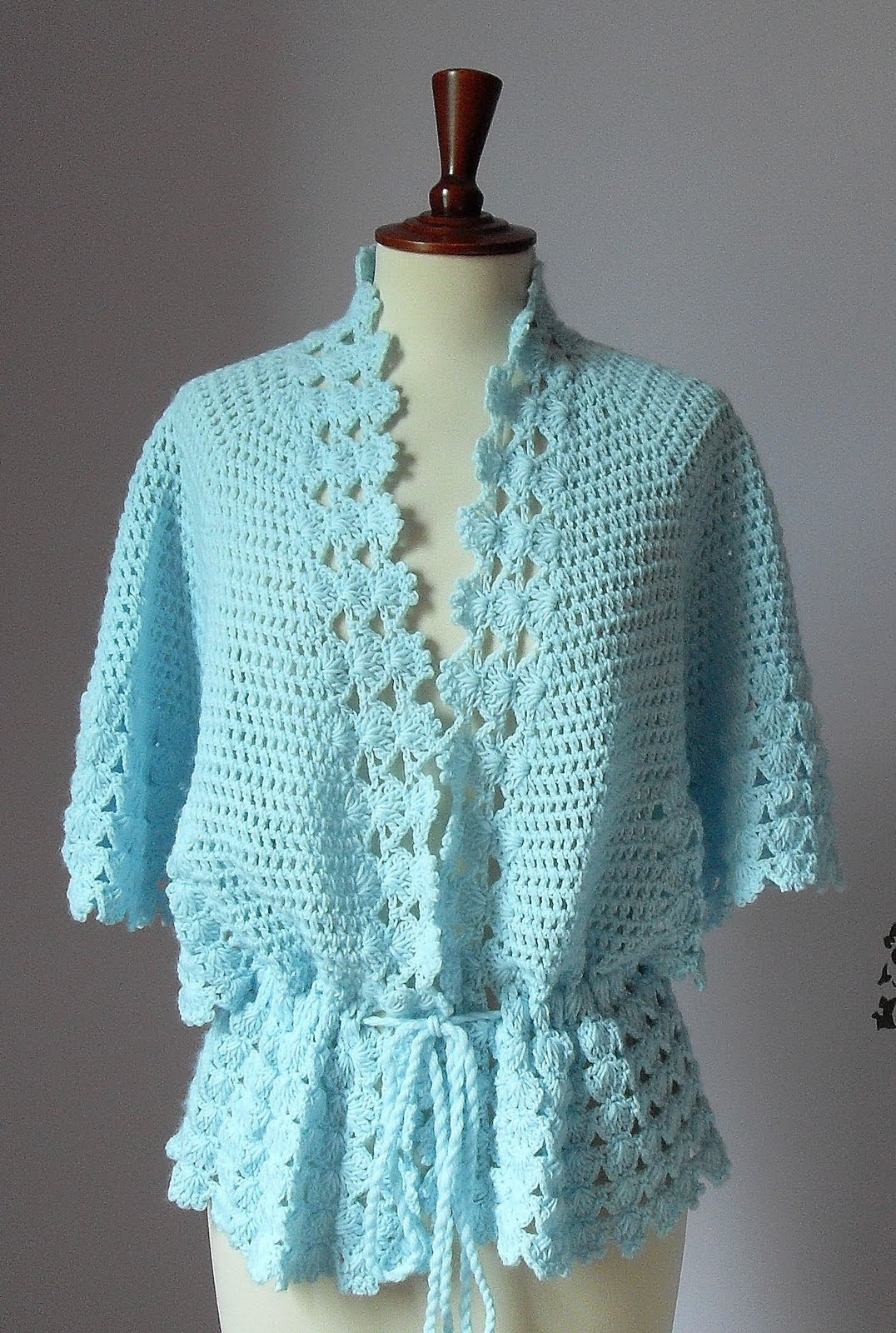 Fresh Silvia66 Crocheted Bed Jacket or Light Cardigan Crochet Jackets Patterns Of Top 44 Photos Crochet Jackets Patterns