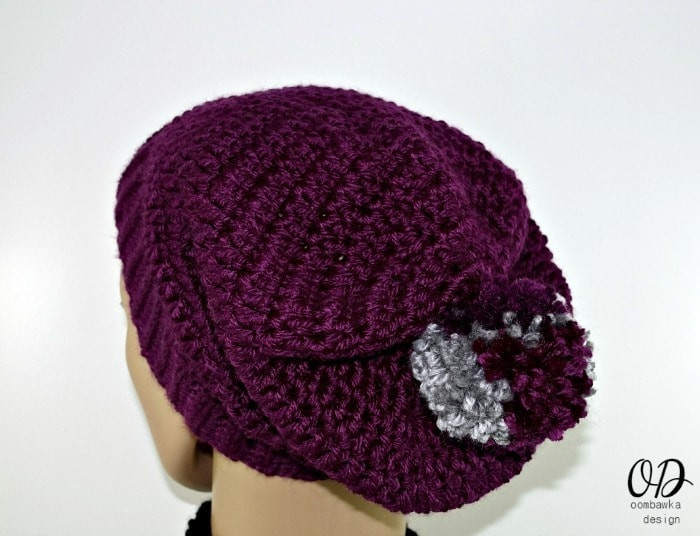 Fresh Simple Double Crochet Slouch Hat Pattern • Oombawka Design Easy Crochet Hat Patterns for Adults Of Delightful 48 Photos Easy Crochet Hat Patterns for Adults