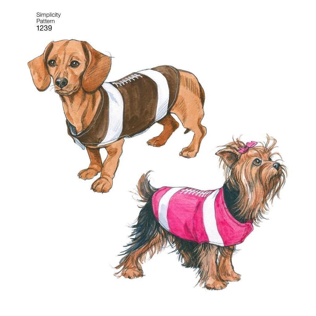Fresh Simplicity Sewing Pattern Dog Coats In 3 Sizes 1239 Dog Coat Sewing Pattern Of New 37 Ideas Dog Coat Sewing Pattern