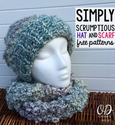 Fresh Simply Scrumptious Slouch Hat Hat and Scarf Crochet Pattern Of Lovely 41 Pictures Hat and Scarf Crochet Pattern