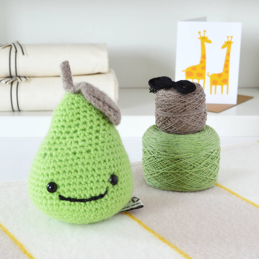 Fresh Smiley Pear Learn to Crochet Kit by Warm Pixie Diy Learn to Crochet Kit Of Top 39 Pictures Learn to Crochet Kit