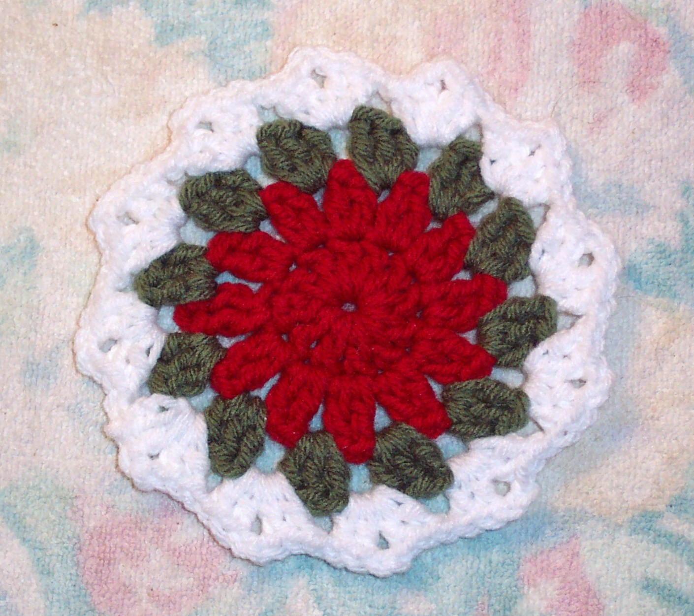SmoothFox Crochet and Knit SmoothFox s Holiday Coaster