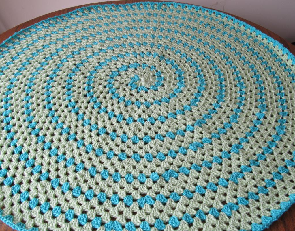 Fresh Spiral Round Granny Blanket by Smoothfox Craftsy Crochet Circle Blanket Of Innovative 46 Models Crochet Circle Blanket
