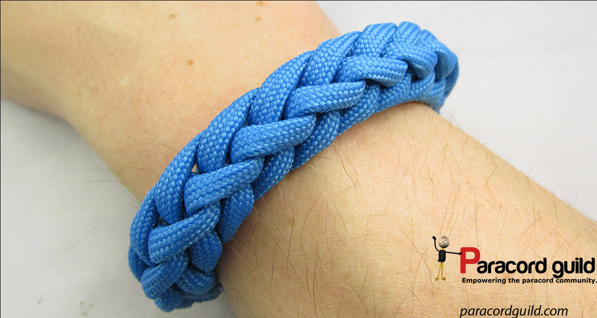 Spool knit paracord bracelet Paracord guild