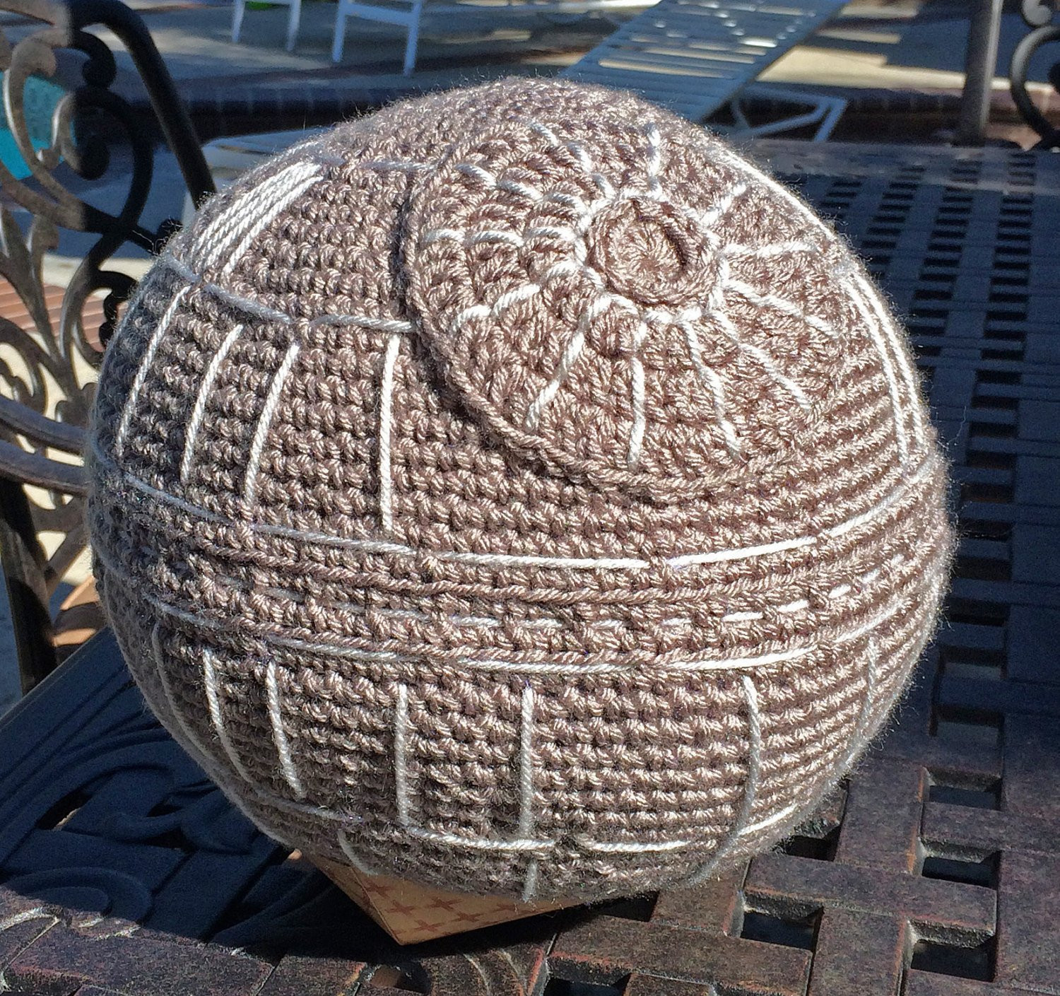 Fresh Star Wars Death Star Pillow Handmade Crochet Plush toy Decor Handmade Crochet Of Delightful 40 Pics Handmade Crochet