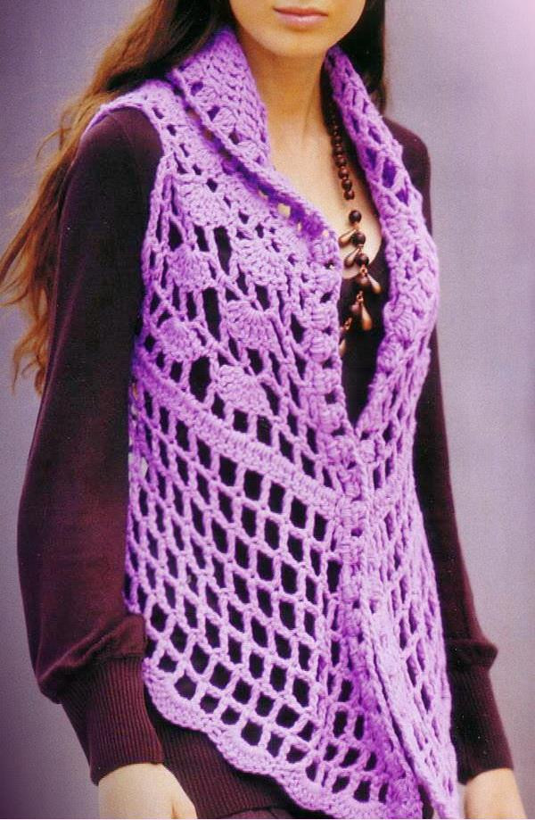 Fresh Stylish Easy Crochet Womens Crochet Vest Of Amazing 47 Pics Womens Crochet Vest