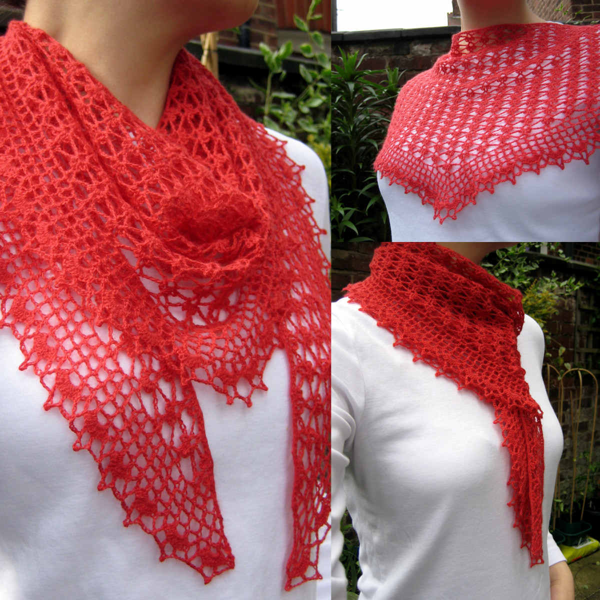 Fresh Summer Sprigs Lace Scarf Crochet Scarves Of Amazing 43 Photos Crochet Scarves
