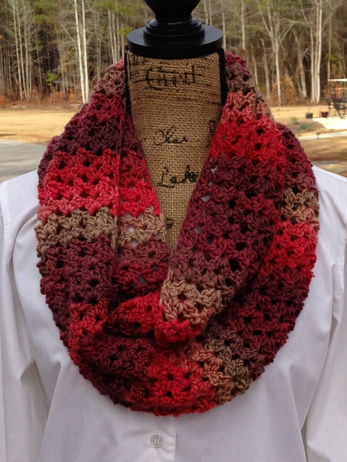 Fresh Sunset Scarf A Free Crochet Pattern by Elk Studio Free Infinity Scarf Crochet Pattern Of Attractive 46 Images Free Infinity Scarf Crochet Pattern