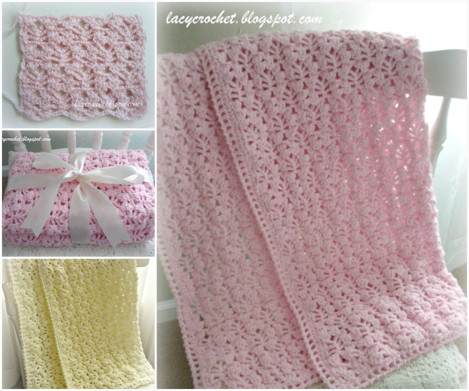 Super Snuggly Crochet Baby Blanket Free Pattern and Tutorial