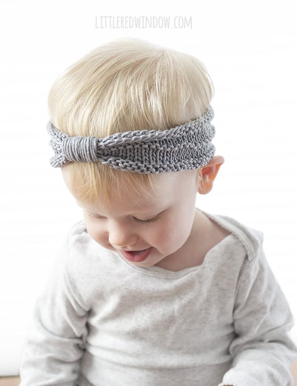 Fresh Sweet Baby Headband Knitting Pattern Little Red Window Baby Headband Knitting Pattern Of New 47 Ideas Baby Headband Knitting Pattern