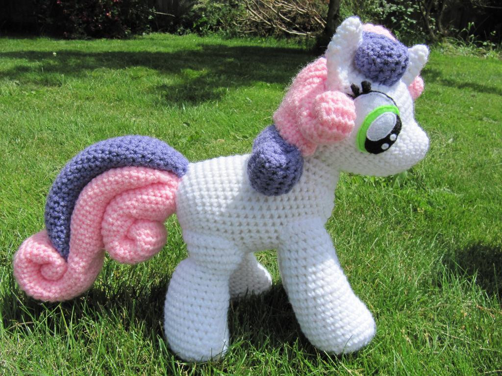 Fresh Sweetie Belle From My Little Pony by Nerdyknitterdesigns My Little Pony Crochet Pattern Of Brilliant 49 Ideas My Little Pony Crochet Pattern