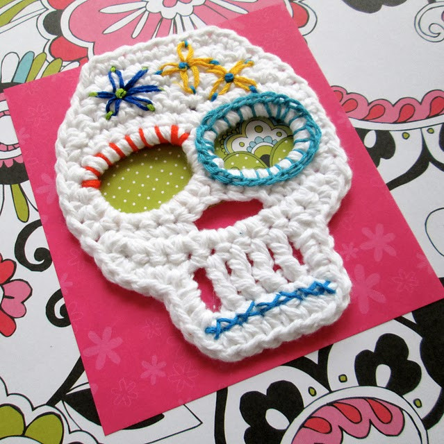 Fresh Tangled Happy Crochet Skull Crochet Sugar Skull Of Incredible 47 Pictures Crochet Sugar Skull