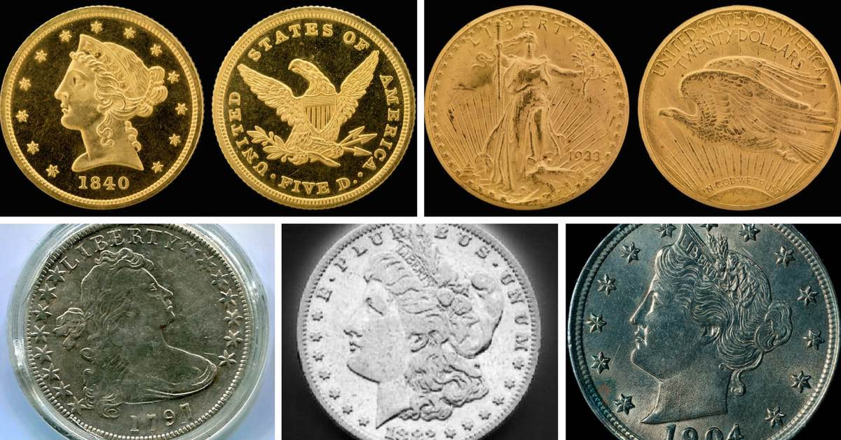 Fresh the 7 Most Valuable Coins In America are Your Coins Worth Valuable Quarters to Look for Of Top 40 Pics Valuable Quarters to Look for
