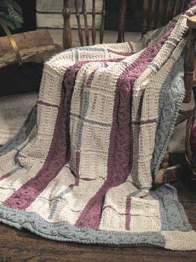 Fresh the Cabled Gansey Afghan is An Easy Pattern to Knit with Free Easy Knit Afghan Patterns Of Top 40 Ideas Free Easy Knit Afghan Patterns
