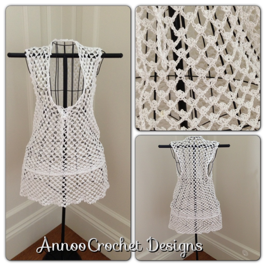 The gallery for Crochet Swimsuit Cover Ups