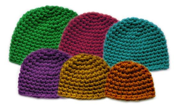 Fresh Thick Family Beanie Set 6 Sizes Pdf Crochet Pattern Crochet Hat Bulky Yarn Of Top 41 Pictures Crochet Hat Bulky Yarn