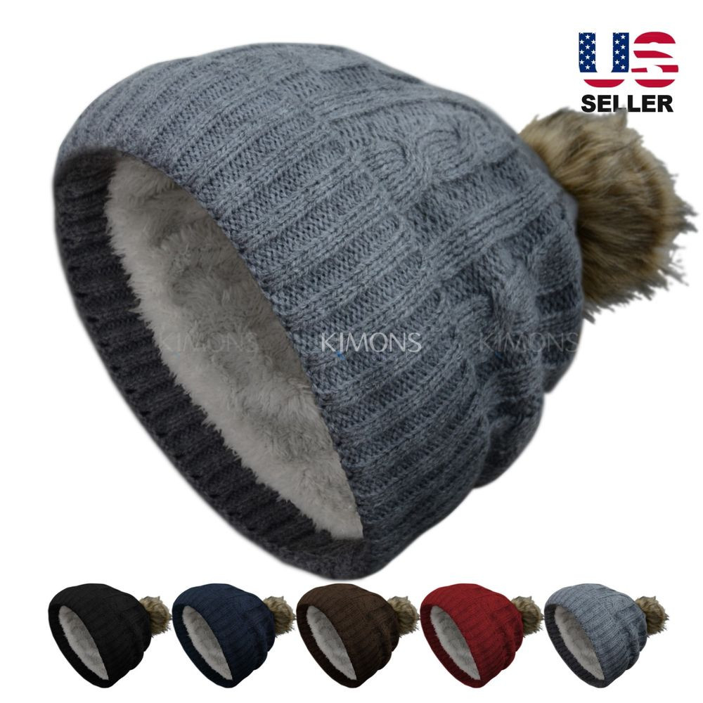 Fresh Thick Pom Pom Knit Slouchy Baggy Beanie Oversize Winter Slouchy Winter Hat Of Top 47 Models Slouchy Winter Hat