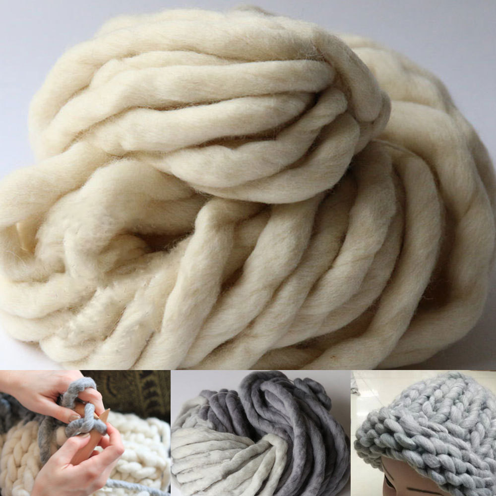 Fresh Thick Yarn for Knitting High Grade Wool Yarn Crochet Hand Crochet Yarn Of Delightful 43 Models Hand Crochet Yarn