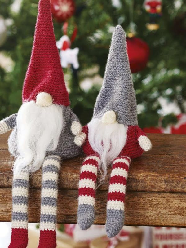 Top Knitted Christmas Decorations Christmas Celebration
