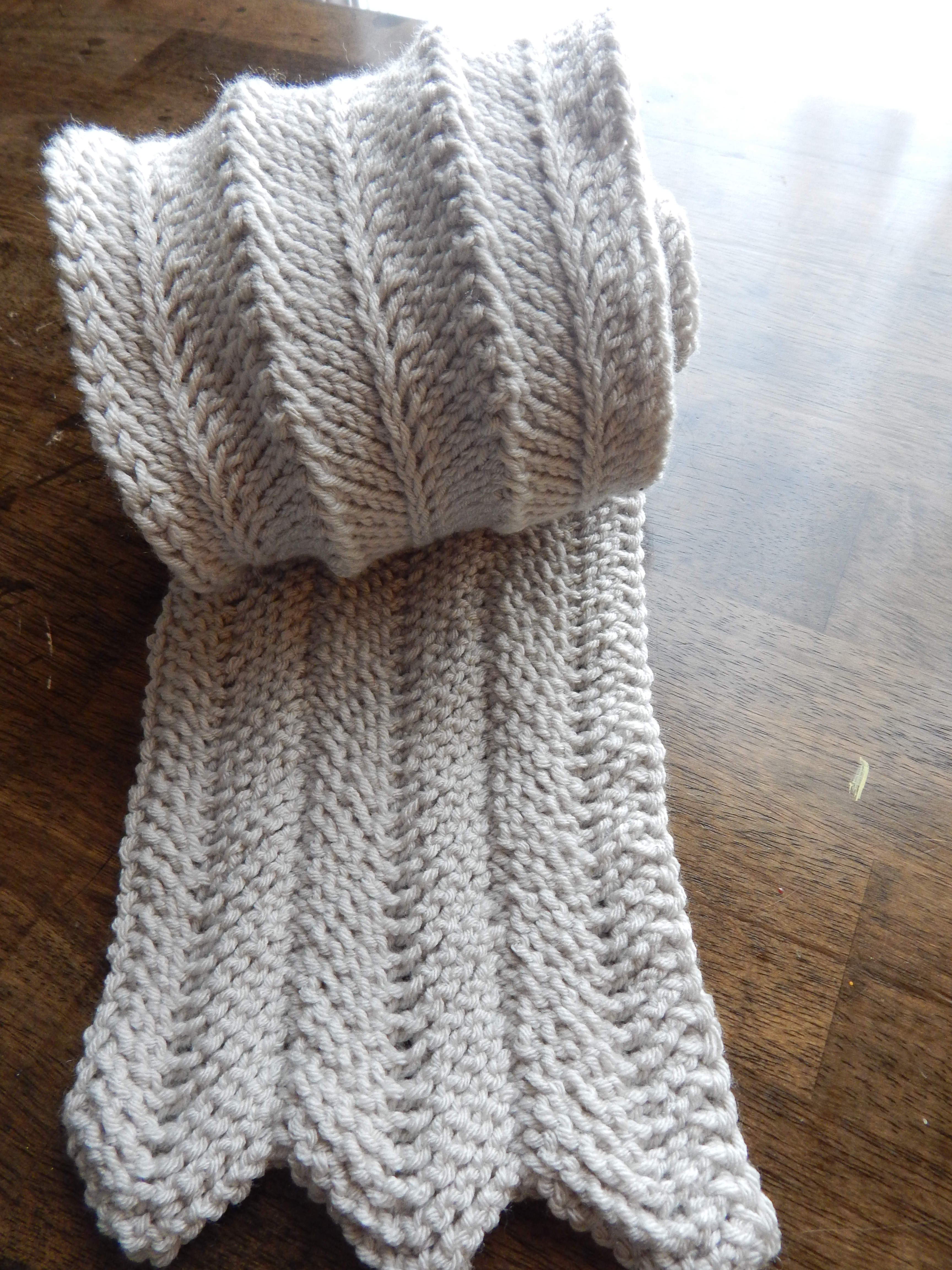 Fresh Tunisian Ripple Scarf Free Pattern Tunisian Crochet Knit Stitch Of Superb 46 Pictures Tunisian Crochet Knit Stitch