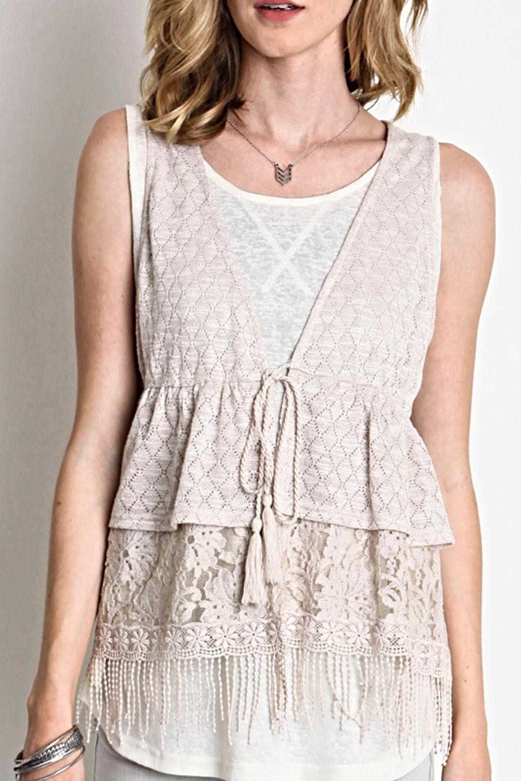 Fresh Umgee Usa Crochet Lace Vest From Idaho by Nostalgic Crochet Lace Vest Of Incredible 40 Images Crochet Lace Vest