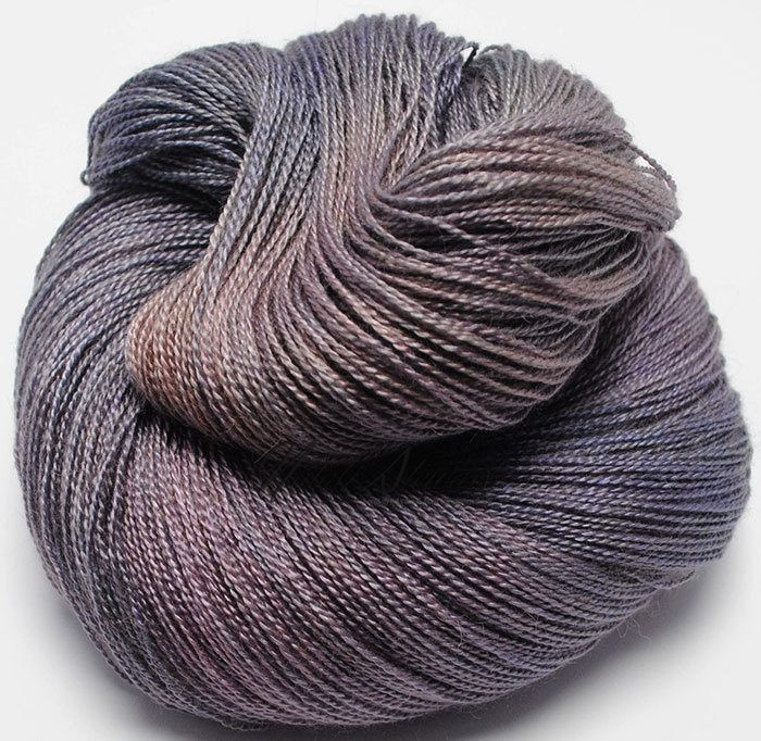 Variegated Yarn Baby Camel Silk 2 ply Lace Weight