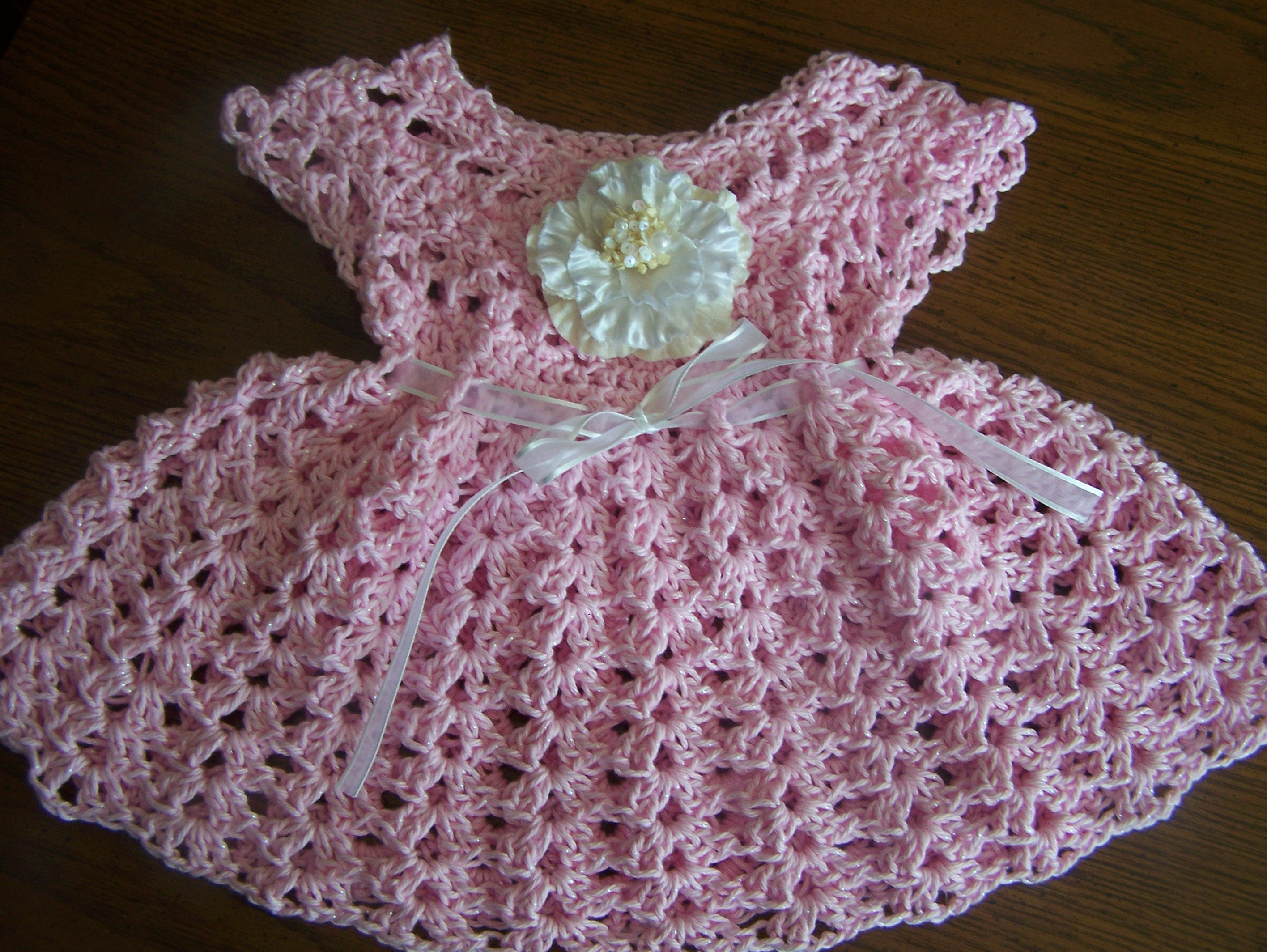 Fresh [video Tutorial] Your Little E Will Enjoy the Summer In Crochet Dress for Baby Of Amazing 42 Photos Crochet Dress for Baby