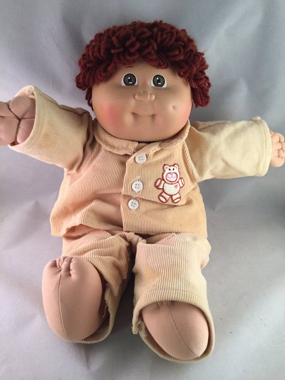 vintage cabbage patch doll 1984 xavier