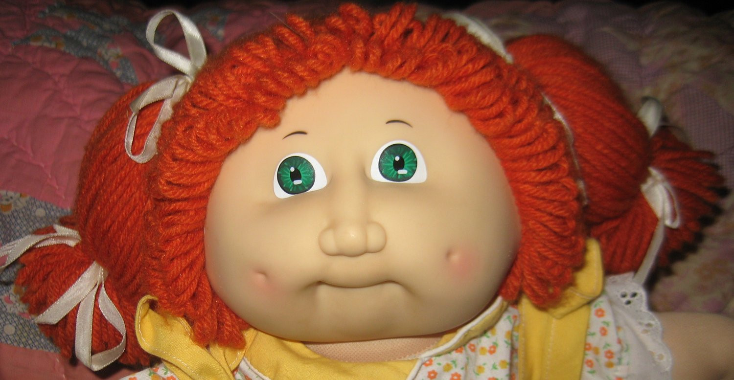 Fresh Vintage Cabbage Patch Kid Doll Ginger Hair Green Eyes Baby Cabbage Patch Doll Of Great 47 Photos Baby Cabbage Patch Doll