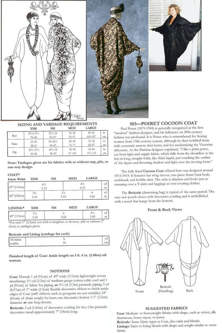Fresh Vintage Cocoon Opera Coat Free Pattern Google Search Jacket Sewing Patterns Of Adorable 41 Models Jacket Sewing Patterns