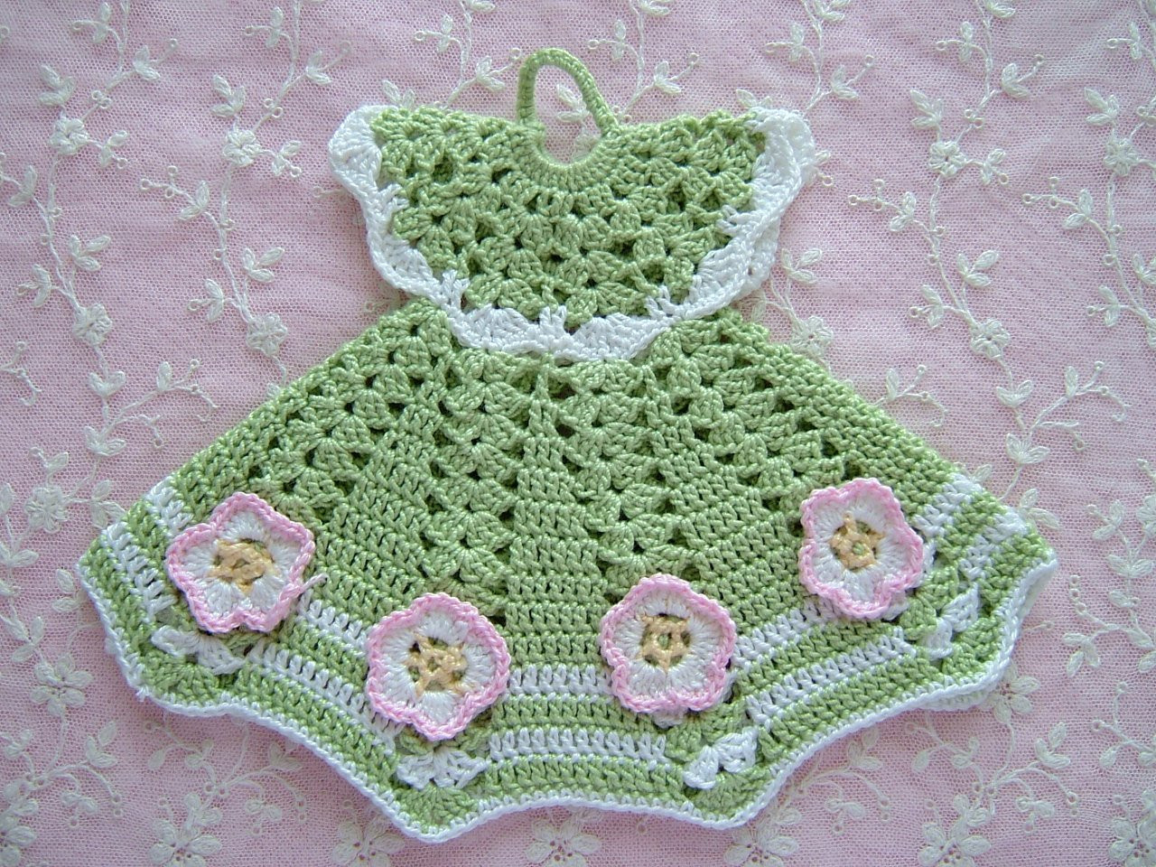 Fresh Vintage Cotton Crochet Pot Holder Doll Dress Vintage Crochet Of Perfect 44 Models Vintage Crochet