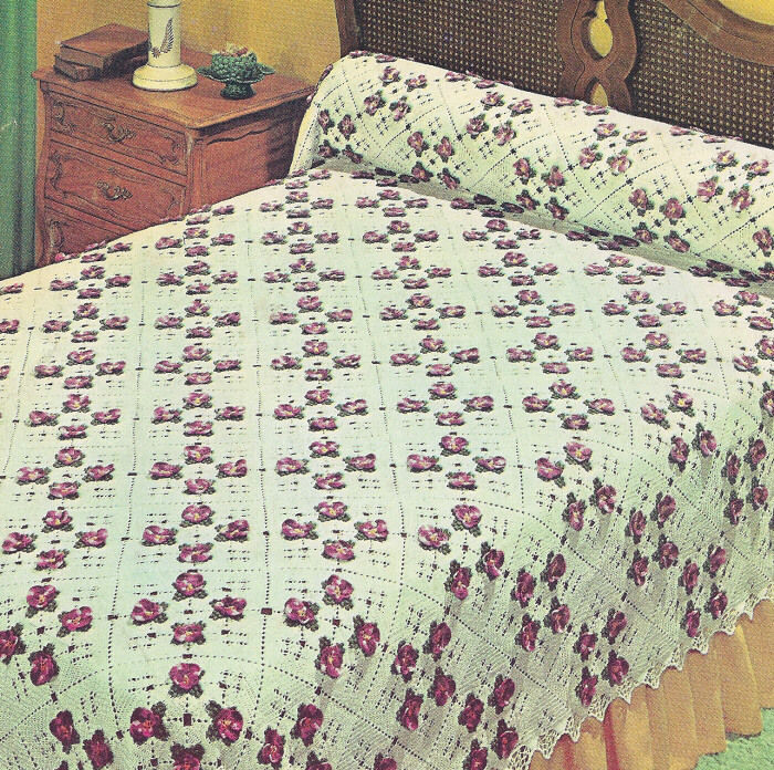Fresh Vintage Crochet Pattern to Make Pansy Bedspread Motif Vintage Crochet Patterns Of Attractive 43 Pictures Vintage Crochet Patterns