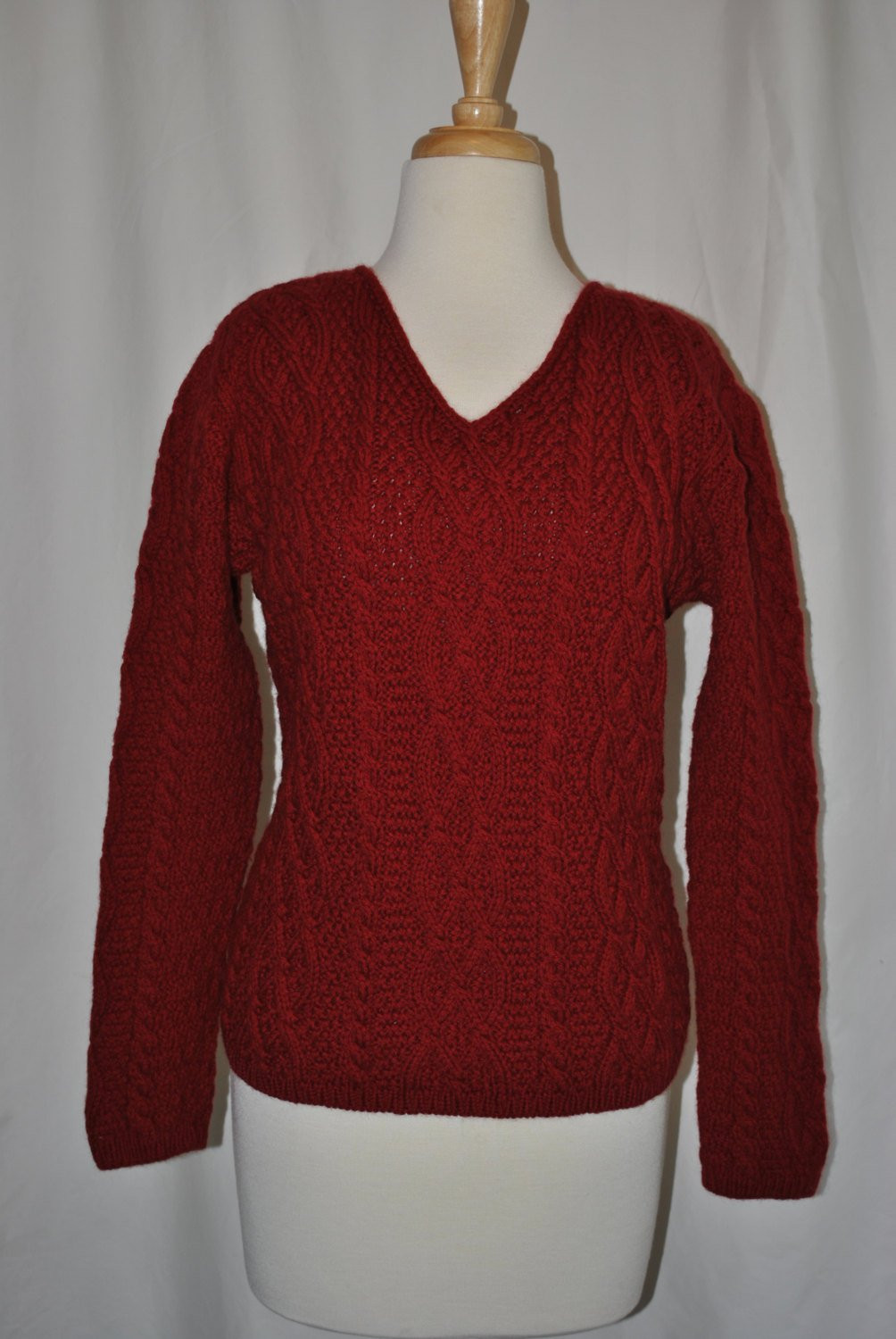 Fresh Vintage Womens V Neck Cable Knit Wool Sweater by Justusvintage V Neck Cable Knit Sweater Of Great 44 Pictures V Neck Cable Knit Sweater