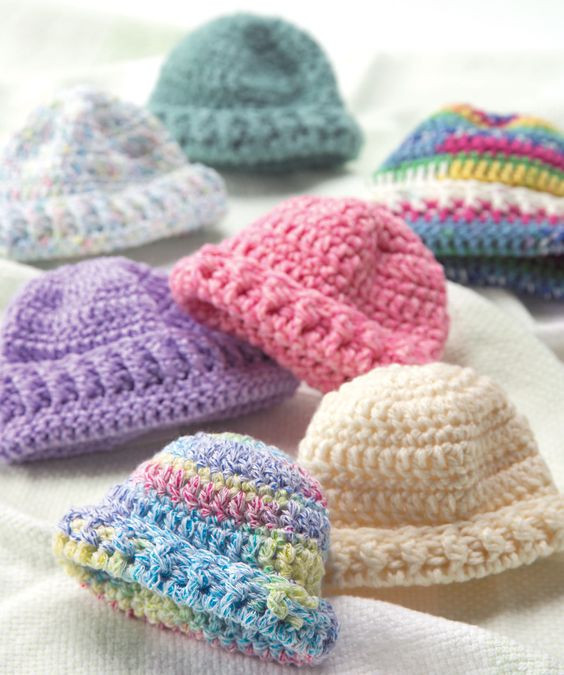 Fresh Wee Little Newborn Hats Free Knit or Crochet Patterns Knitting Baby Hats for Hospitals Of Beautiful 50 Pics Knitting Baby Hats for Hospitals
