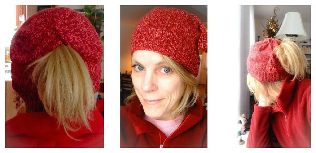 Fresh when A Knitting Fail Turns Out to Be A Success Ponytail Knit Hat Of Top 46 Pictures Ponytail Knit Hat