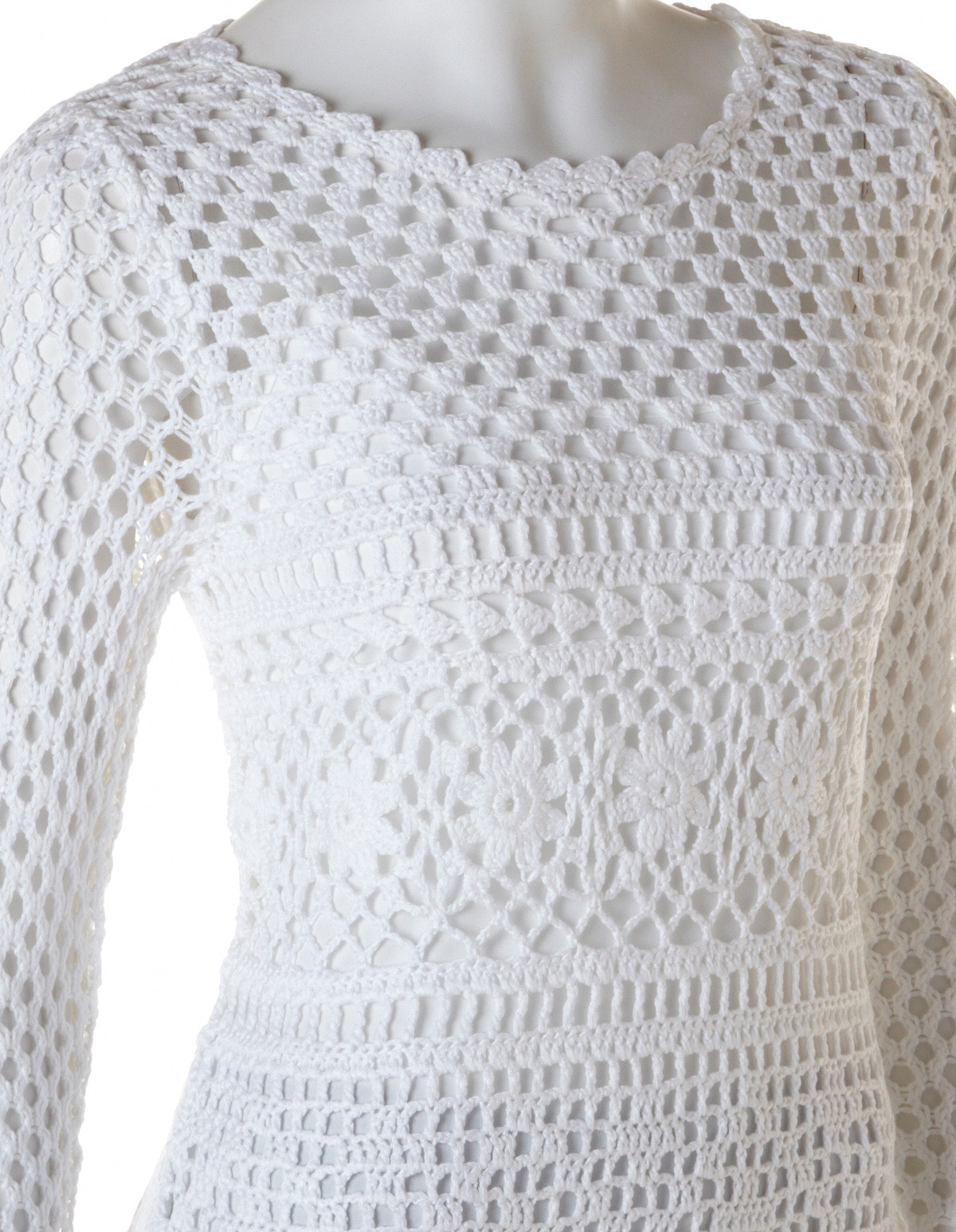 Fresh White Crochet Pullover Sweater White Crochet Sweater Of Wonderful 44 Ideas White Crochet Sweater