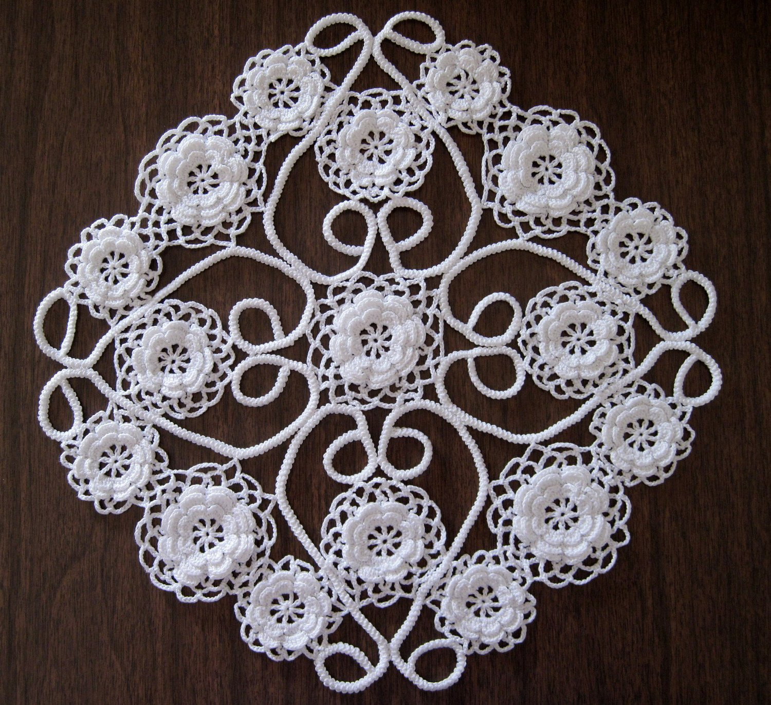 Fresh White Doily Irish Crochet Lace Irish Roses Irish Crochet Lace Of Wonderful 42 Images Irish Crochet Lace