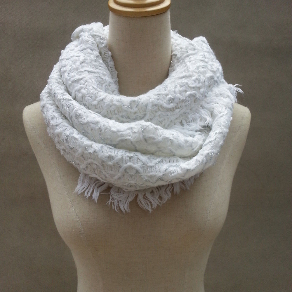 Fresh Women Knit Scarf Warm soft Winter Neck Circle Wool Cowl Knit Cowl Scarf Of Gorgeous 41 Pictures Knit Cowl Scarf