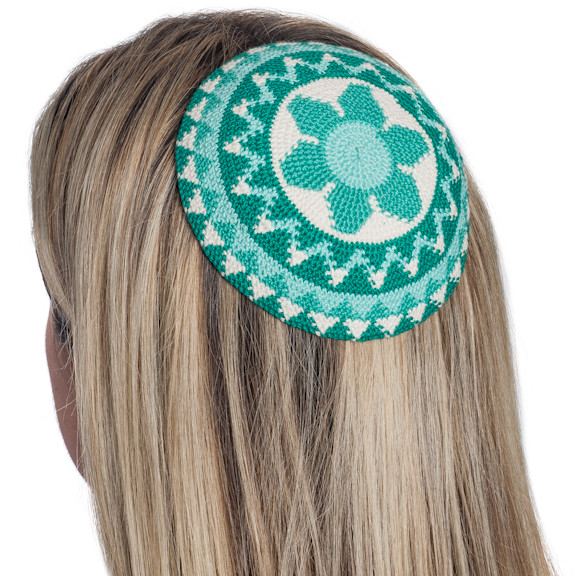 Fresh Women's Crochet Flower Kippot Judaica Fair Trade Crochet Kippot Of Amazing 42 Ideas Crochet Kippot