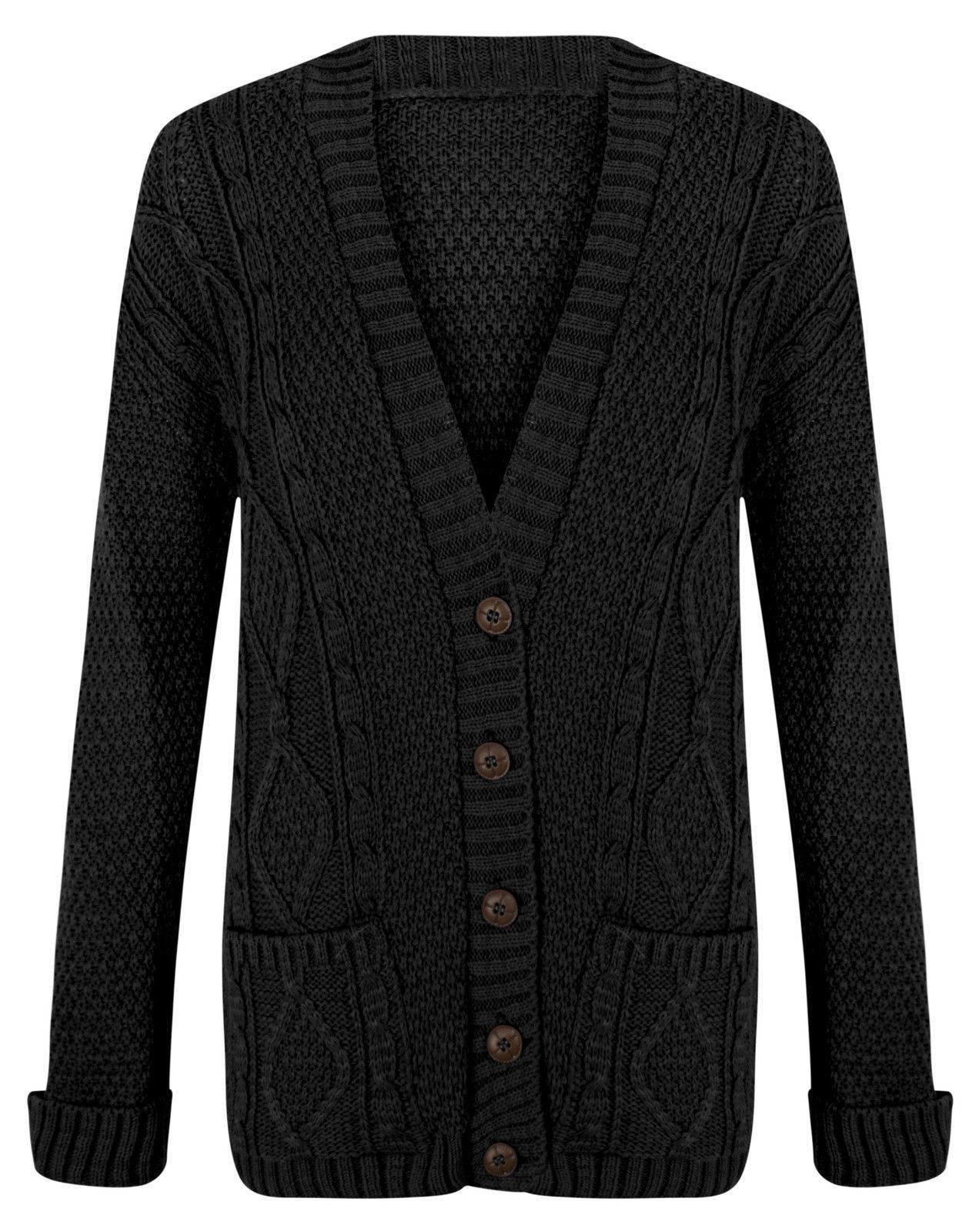 Fresh Womens La S Chunky Cable Knit Cardigan button Long Ladies Cable Knit Sweater Of Charming 49 Photos Ladies Cable Knit Sweater