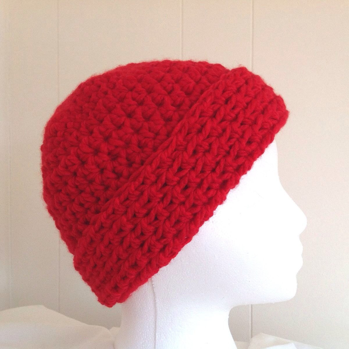 Fresh Womens Red Hat Red Crochet Beanie Bulky Crochet Hat Womens Crochet Beanie Of Perfect 44 Photos Womens Crochet Beanie