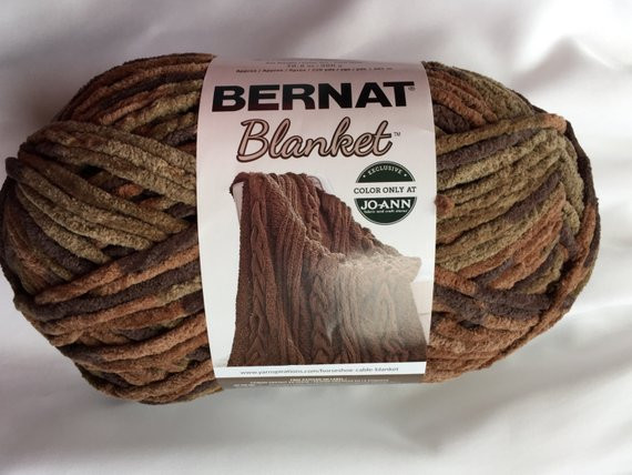 WOODSY Bernat Blanket Yarn Big 10 5 oz Skein