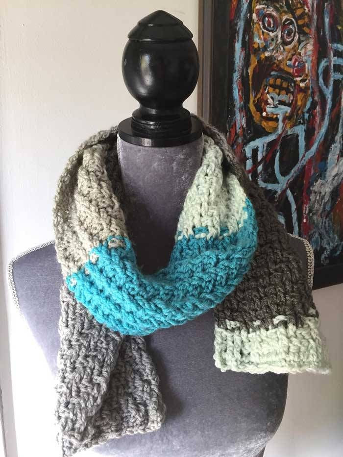 Fresh Woven Scarf by Mikey Caron Cakes Patterns Caron Big Cakes Patterns Of Awesome 46 Pics Caron Big Cakes Patterns