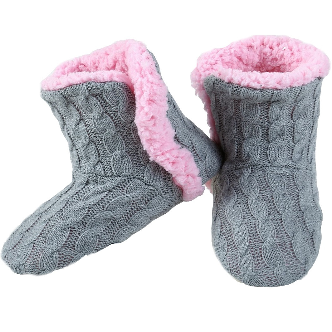 Fresh Yelete Women S Cable Knit Slippers House Booties soft Slipper soles for Knitting Of Superb 40 Images Slipper soles for Knitting