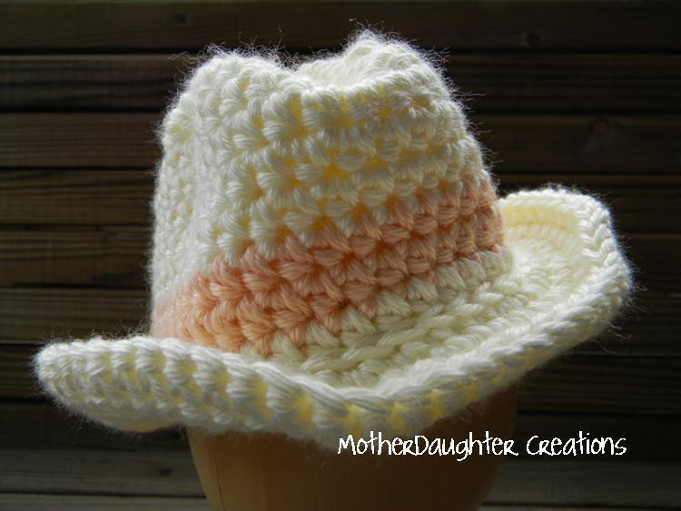 You have to see Baby Cowboy Hat by MotherDaughter