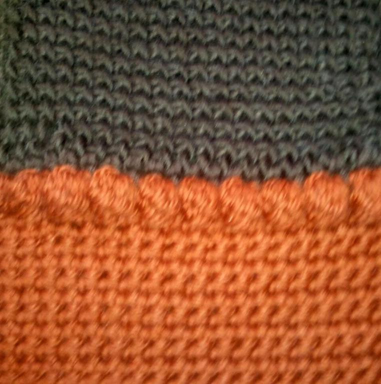 Fresh You Have to See Tunisian Simple Stitch & Single Crochet by Tunisian Simple Stitch Of Fresh 46 Pics Tunisian Simple Stitch