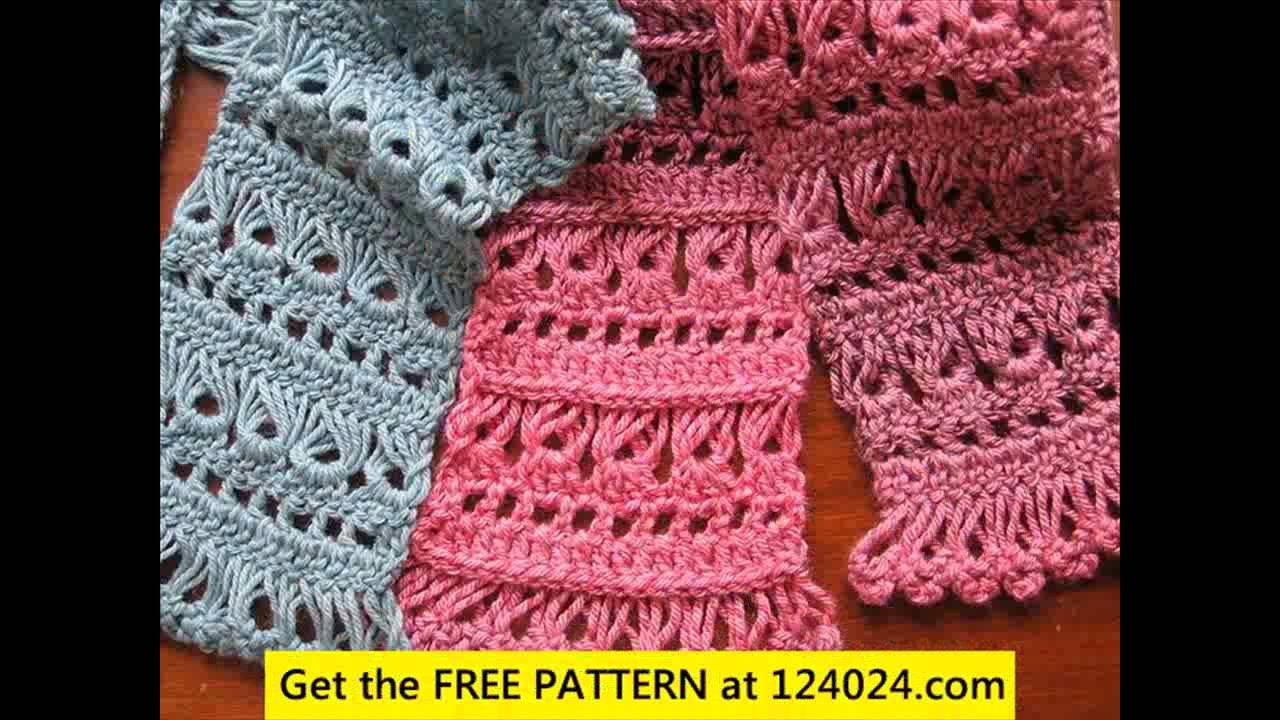 Fresh Youtube Crocheting Scarves Wmperm for Crochet Scarf Patterns Youtube Of Contemporary 47 Ideas Crochet Scarf Patterns Youtube