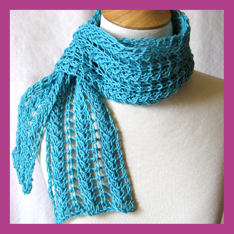 Fresh Zig Zag Knit Lace Scarf Pattern Tutorial by Knittingguru Lacy Scarf Knitting Pattern Of Superb 46 Models Lacy Scarf Knitting Pattern